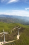 Scorcio panoramico di Montemignaio volando su Secchieta